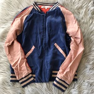 LOVERS + FRIENDS Track Bomber Jacket